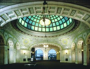 Preston Bradley Hall at Chicago Cultural Center